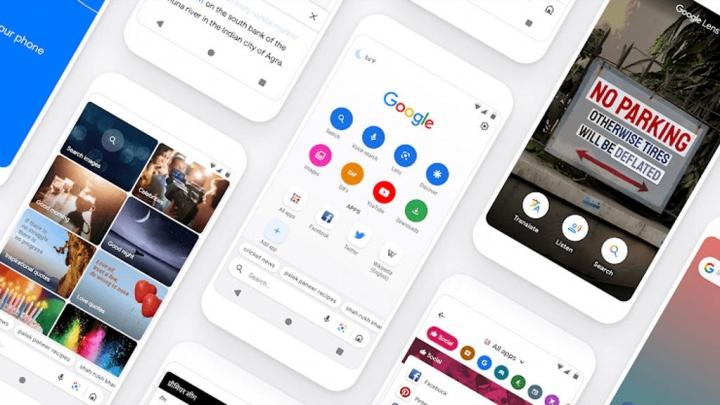 عمليات البحث اذهب إلى Android على الإنترنت Google