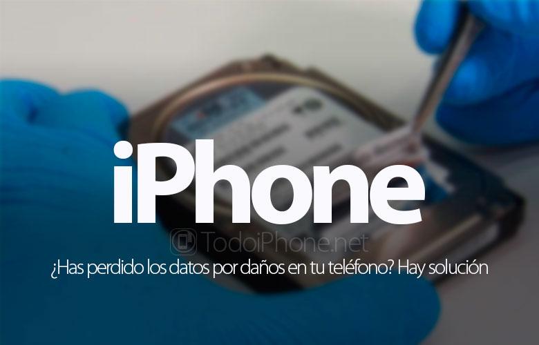 هل فقدت البيانات بسبب تلف iPhone الخاص بك؟ هناك حل 1