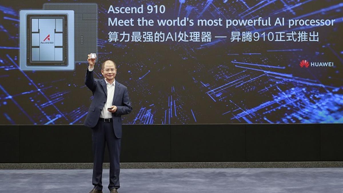 هواوي تطلق جهاز MindSpore بإطار Ascend 910 للرقاقة والحوسبة 1