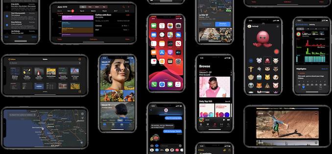 وضع الظلام ، iPadOS والملفات 1