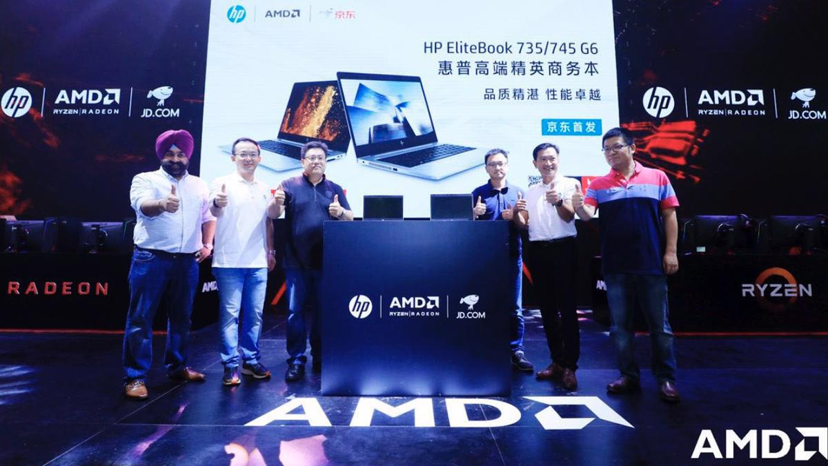 يأتي HP EliteBook 735/745 G6 الجديد بمعالج Ruilong Pro 3000U 1