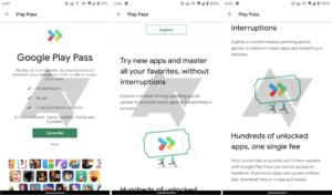 "يتم حاليًا اختبار Google Play ""Play Pass"" (ائتمانات الصور: Android Police)"
