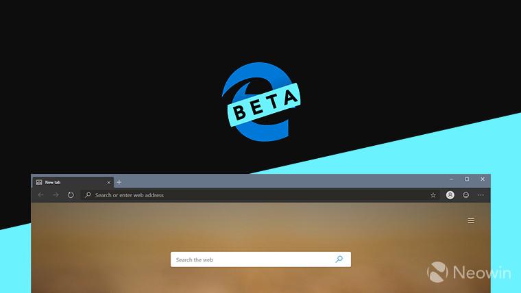 يتوفر مستعرض Chromium Edge من Microsoft الآن في قناة Beta 1