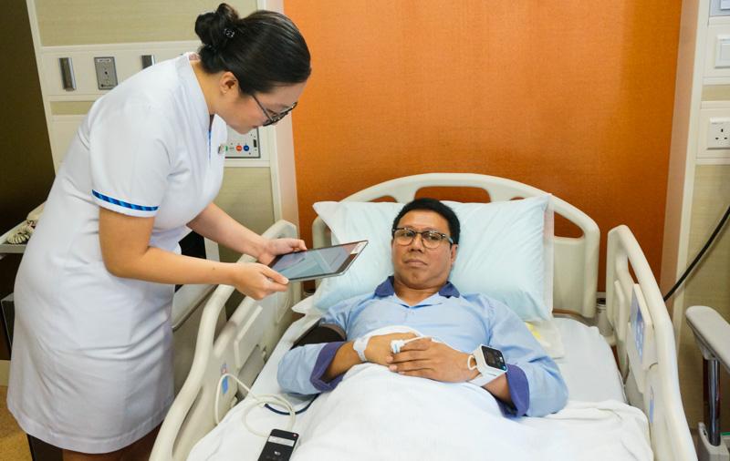 يتيح تطبيق MyCare الخاص بـ SingHealth للمرضى الوصول بسهولة إلى معلوماتهم الطبية 1