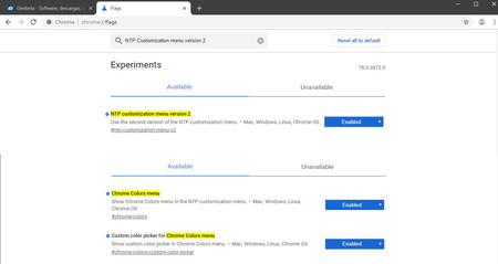 تخصيص أعلام Chrome