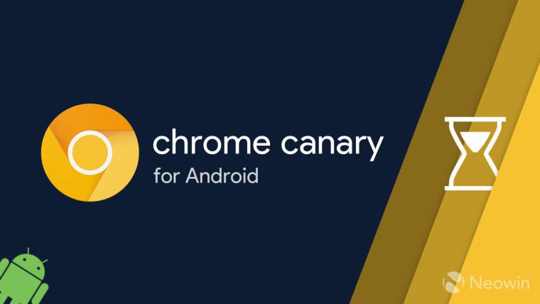 يتيح Chrome Canary على Android الآن توقيت استخدام الموقع من خلال الرفاهية الرقمية 1