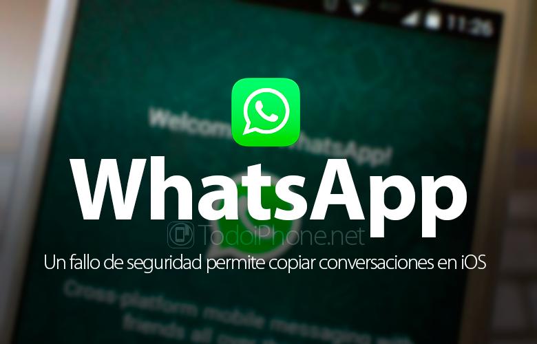 يسمح لك الخلل بنسخ محادثات WhatsApp على iOS 1