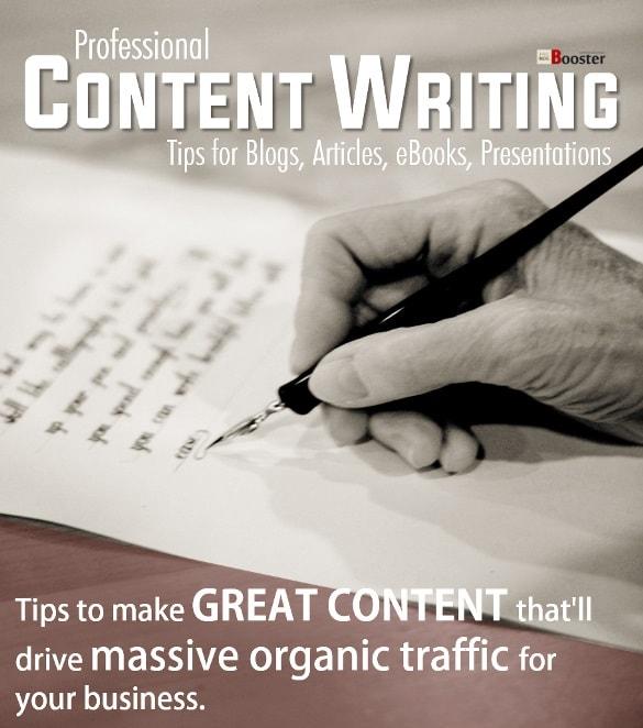 كتابة محتوى جيد لمدونة الموقع