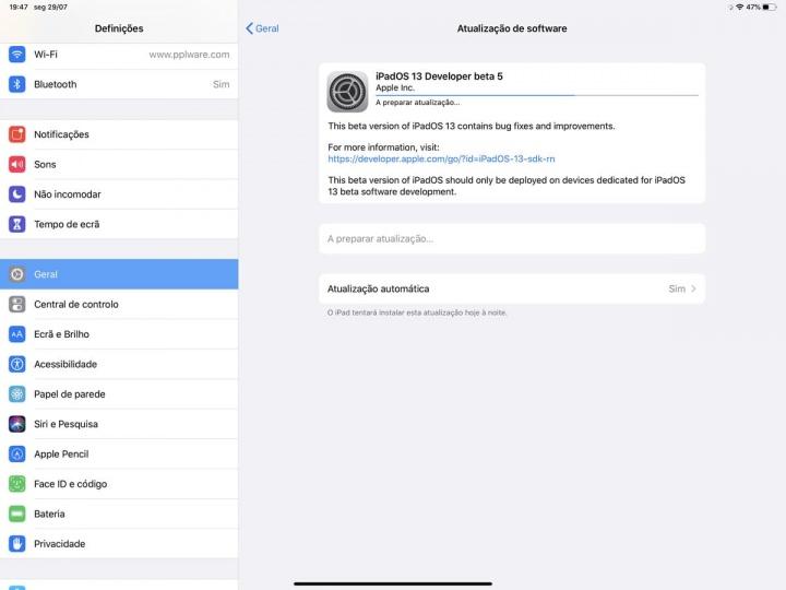 Apple تطلق iOS 13 beta 5 للمطورين وليس فقط ... 1