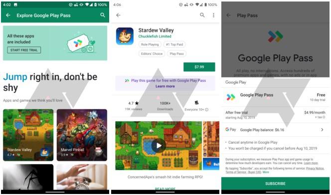 جوجل تختبر لعبة Play Pass. يقدم تطبيقات وألعاب مميزة بدون إعلانات 2