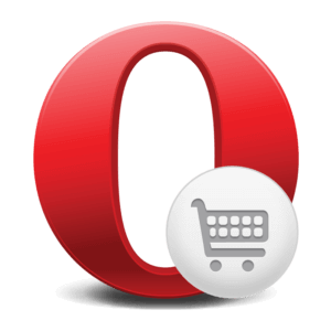 شعار Opera Mobile Store