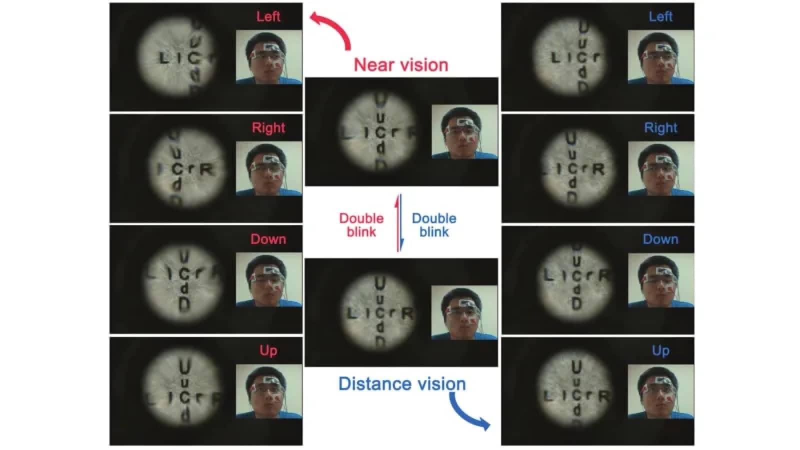 صنع العلماء عدسات لاصقة يمكنها التكبير عن طريق الوميض 1