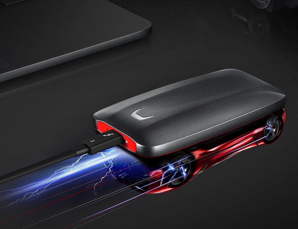 سامسونج X5 الصاعقة 3 SSD المحمولة
