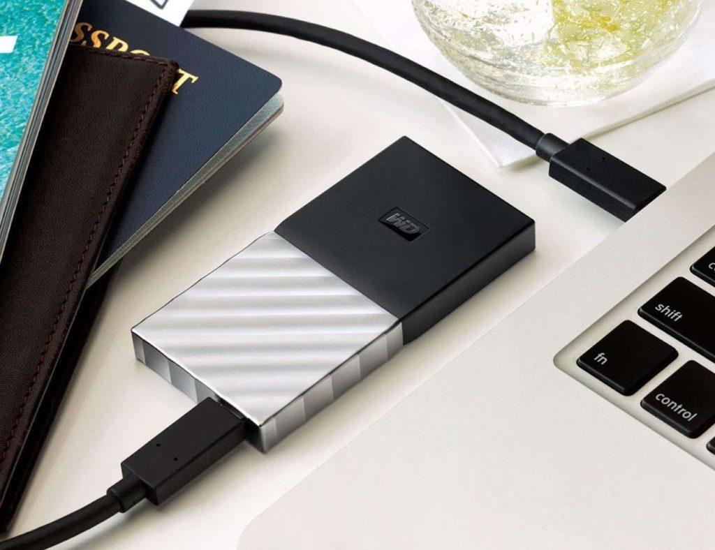 WD جواز سفري محمول SSD