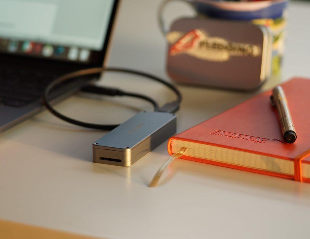 "Flavging Shell Portable NVME SSD ""aria-ووصفها ="" gallery-10-357555"