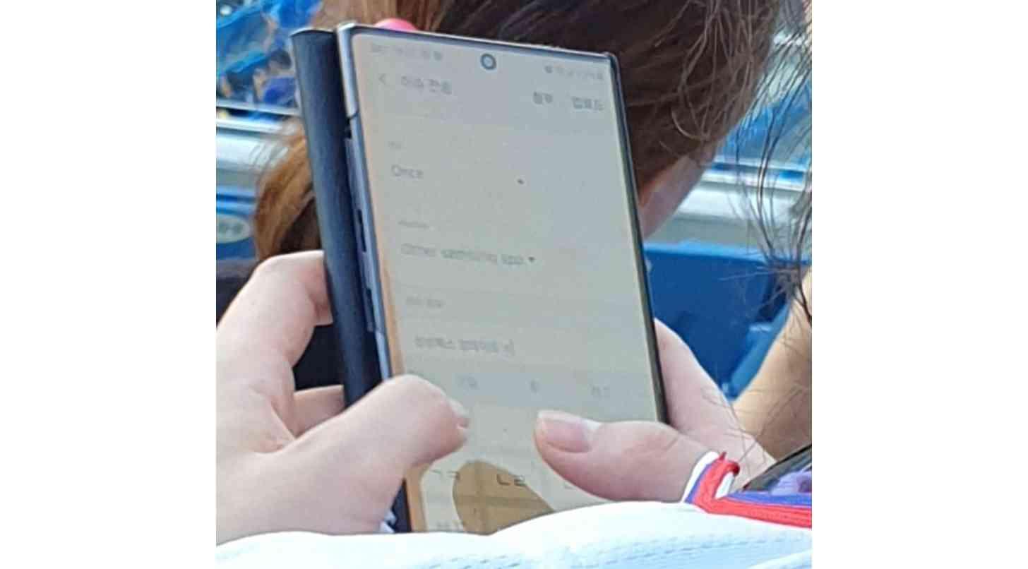 سامسونج Galaxy Note  10 في البرية