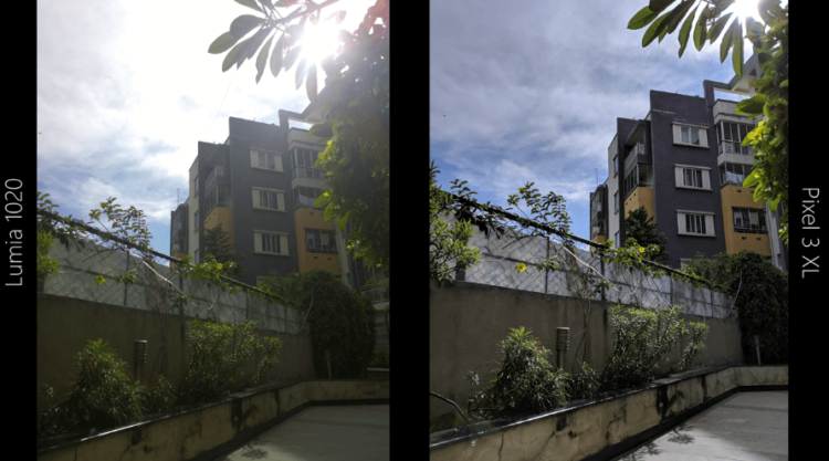 Nokia Lumia 1020 (2013) против Google Pixel 3 XL: сравните свою камеру 6