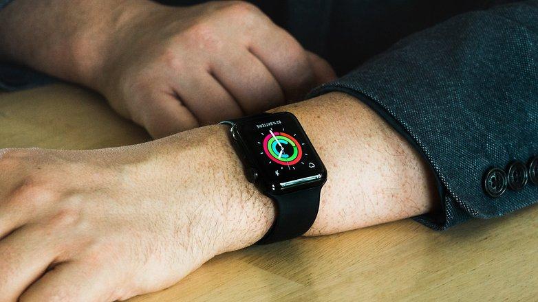 AndroidPIT ساعة أبل ساعة ذكية يمكن ارتداؤها 0390