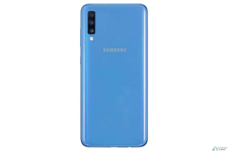 سامسونج Galaxy A70 مع التحديث الجديد ، يجلب الوضع الليلي وتصحيح الأمان يوليو 1