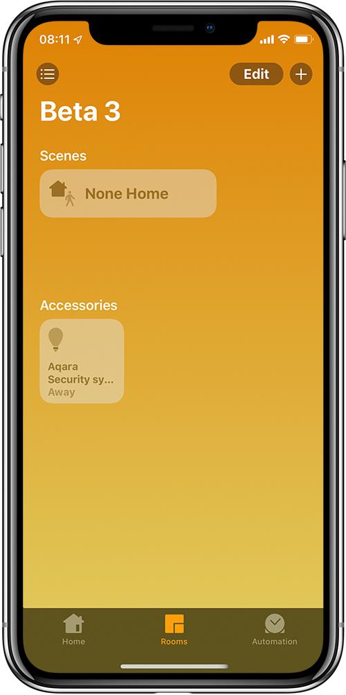 التغييرات والإضافات إلى التطبيق الرئيسي في iOS13 Beta 4