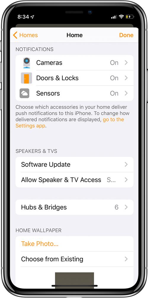 التغييرات والإضافات إلى التطبيق الرئيسي في iOS13 Beta 11
