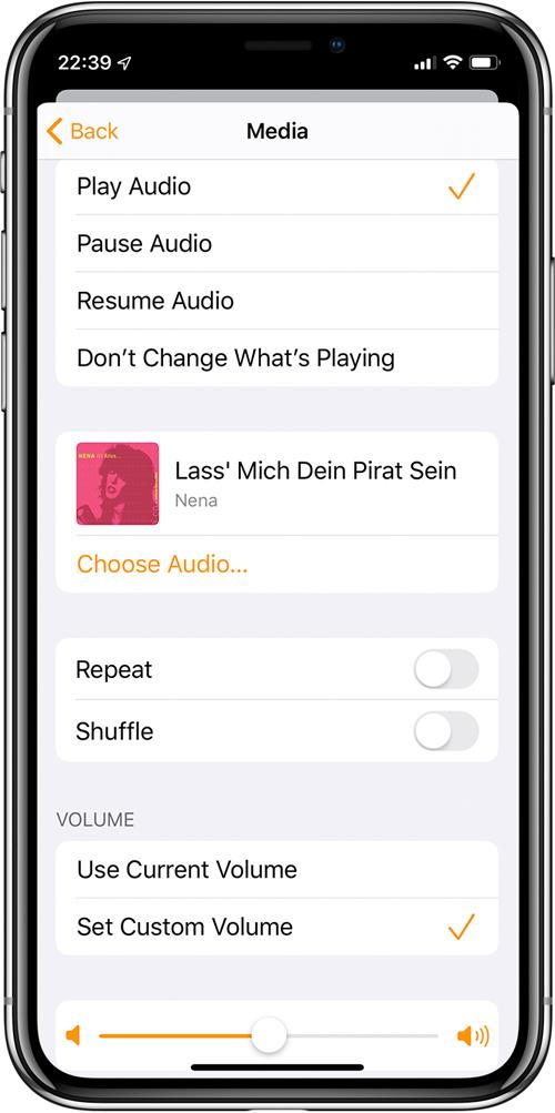 التغييرات والإضافات إلى التطبيق الرئيسي في iOS13 Beta 24