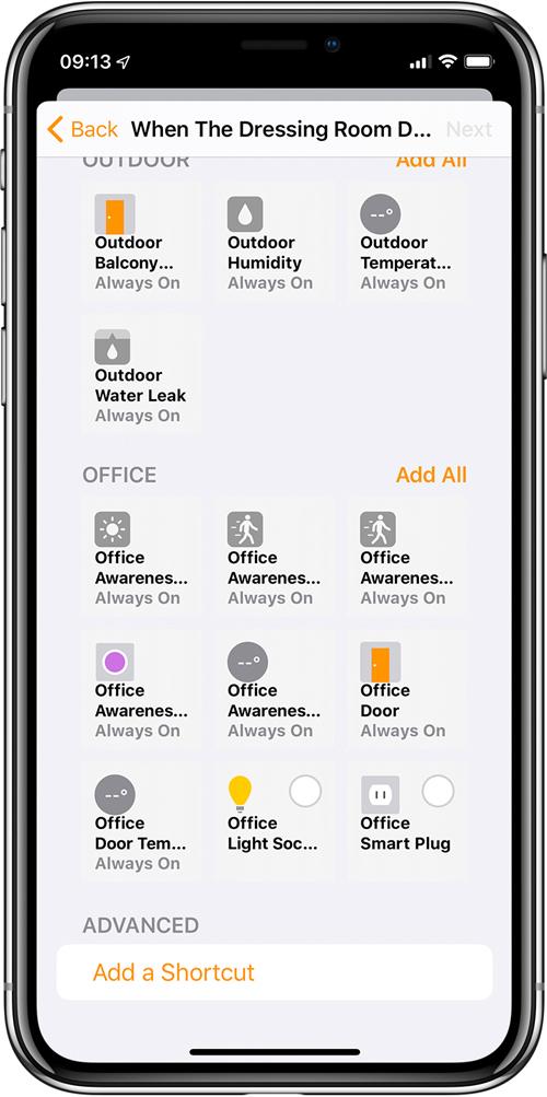 التغييرات والإضافات إلى التطبيق الرئيسي في iOS13 Beta 25
