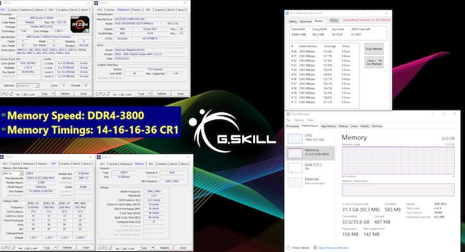 G.Skill تكشف عن طقم ترايدنت Z نيو DDR4-3800 CL14 لأيه إم دي ريزين 3000 1
