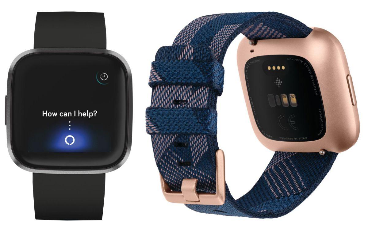 Fitbit Versa 2 Press Press Renders الظهور عبر الإنترنت؛ تبدو متطابقة مع النسخة الأصلية 1