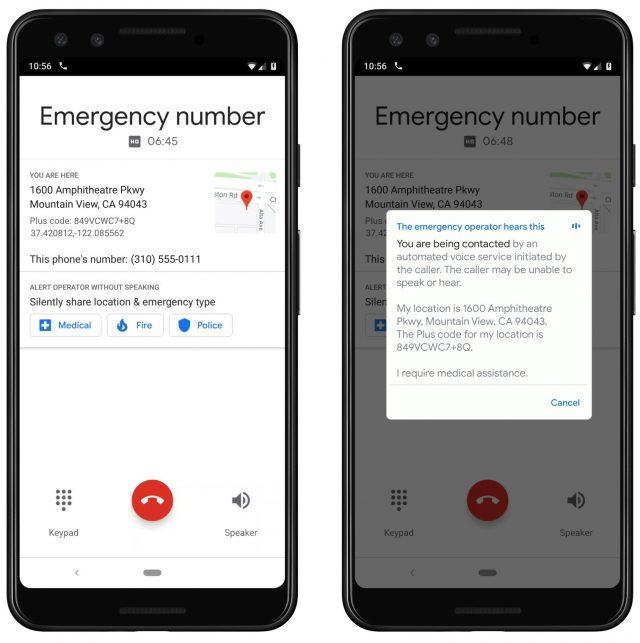 ستصبح هواتف Pixel من Google قادرة على التحدث إلى 911 مشغلًا 2