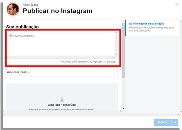 كيفية جدولة المشاركات مباشرة instagram الكتابة