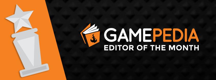محرر Gamepedia لهذا الشهر - أبريل 2018 2