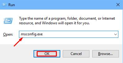 كيف تبدأ windows 10 في الوضع الآمن باستخدام msconfig.exe