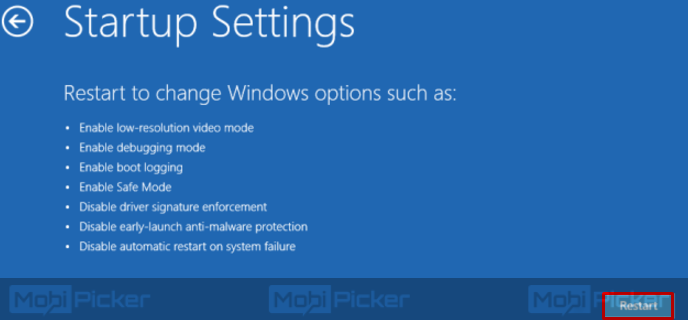 كيف تبدأ windows 10 في الوضع الآمن