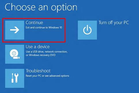 كيفية التمهيد windows 10 في الوضع الآمن