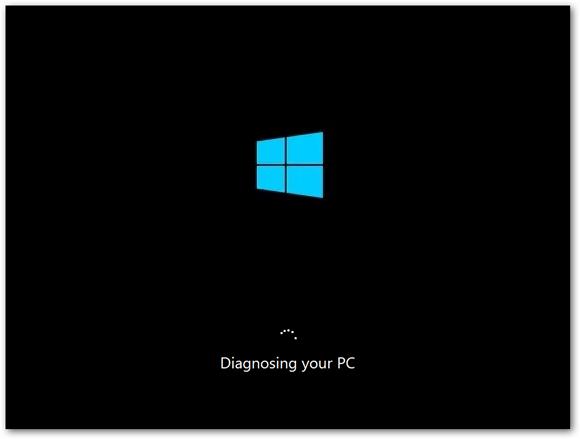 تشخيص windows 10 في الوضع الآمن