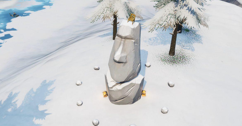 تمثال رأس الحجر