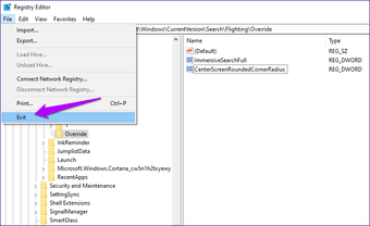 Windows  10 بحث غامرة تمكين 15