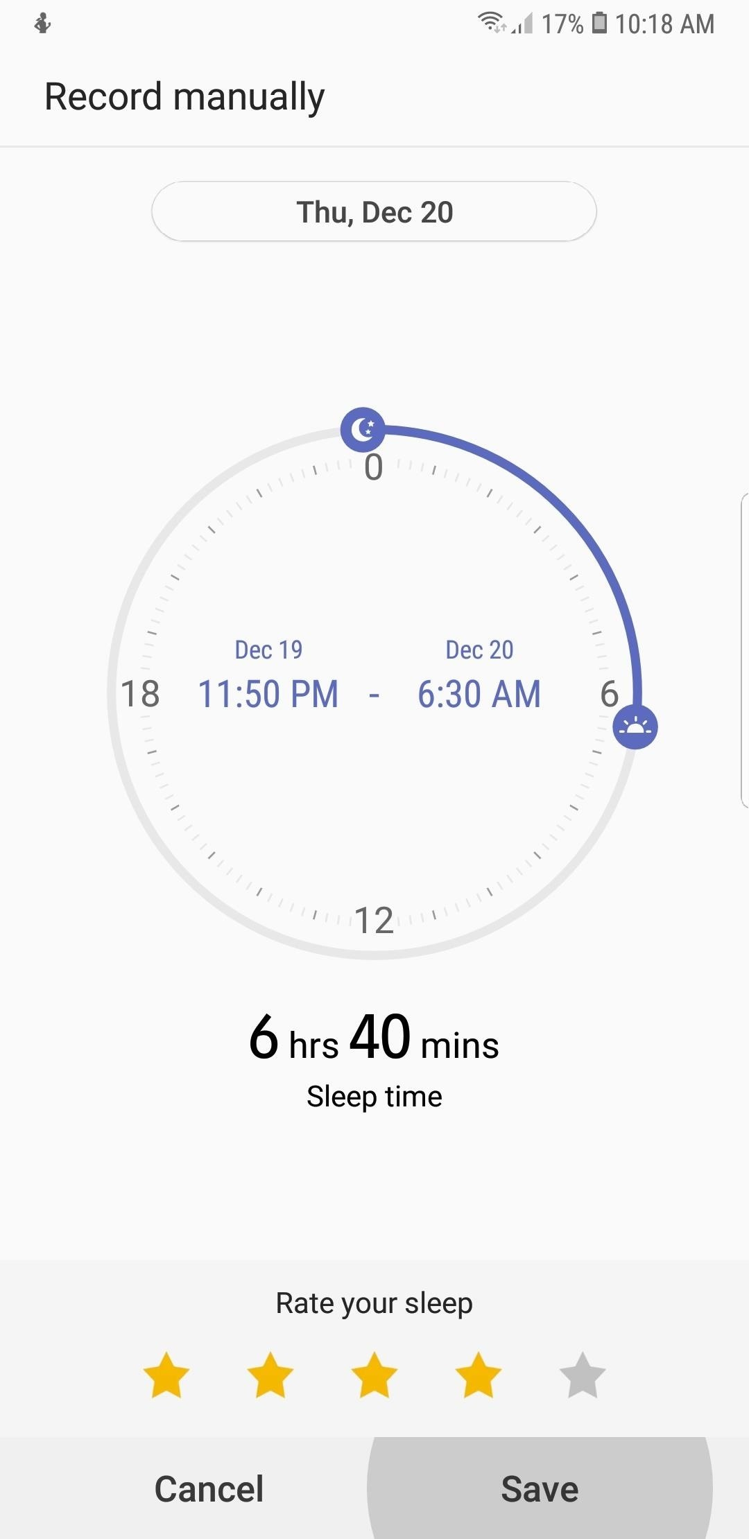 كيفية تسجيل أنماط النوم الخاصة بك مع الصحة سامسونج - لا حاجة للارتداء