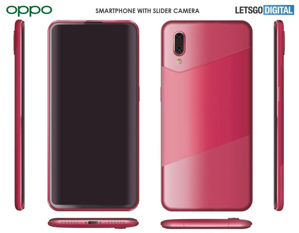 تقدم OPPO هاتفًا ذكيًا بتصميم كاميرا انزلاقية جديدة 1