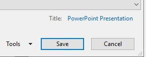 تقليل حجم Powerpoint ضغط جميع أدوات الصور
