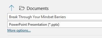 تقليل حجم Powerpoint ضغط جميع الصور المزيد من الخيارات