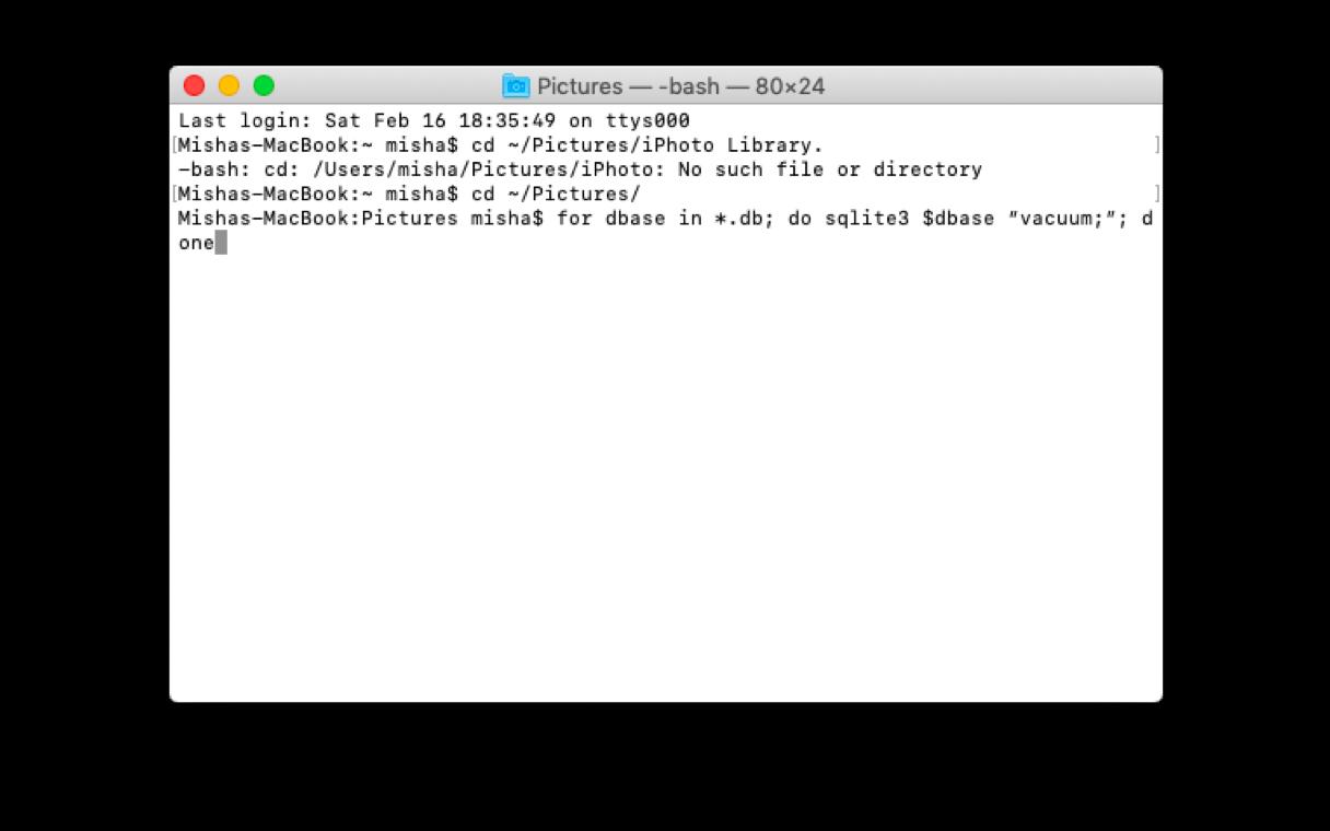 تسريع iPhoto بطيئة عن طريق تحسين جهاز Mac الخاص بك بشكل صحيح 6
