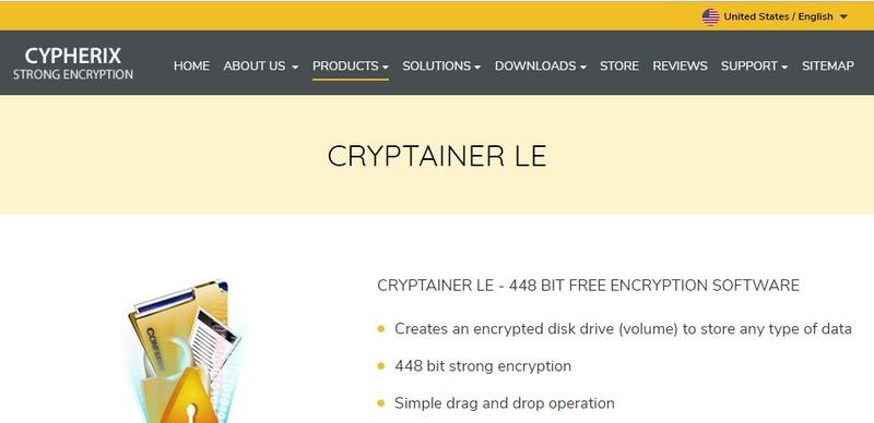 Cryptainer جنيه