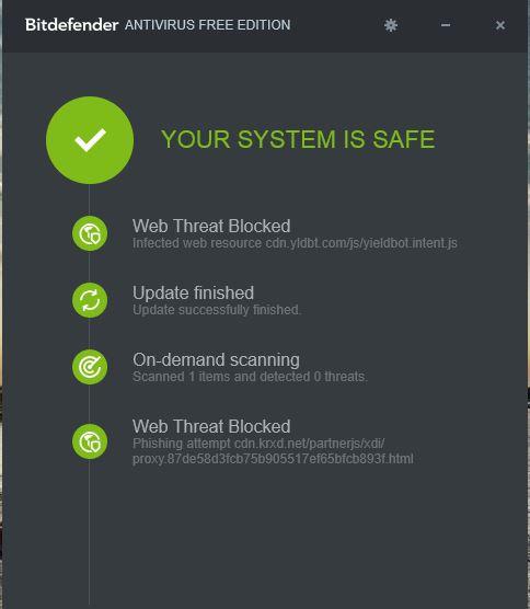 برنامج Bitdefender المجاني