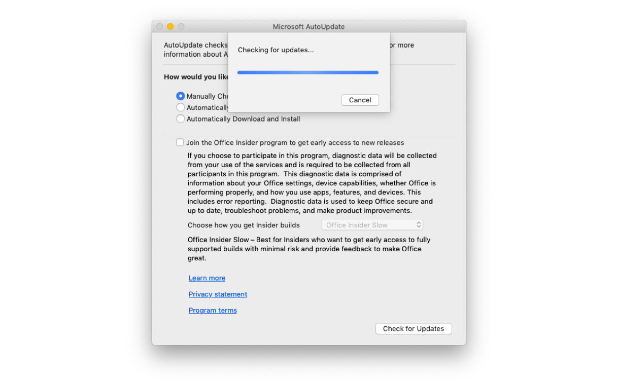 نصائح سهلة لتسريع مايكروسوفت أوفيس على جهاز Mac الخاص بك 4