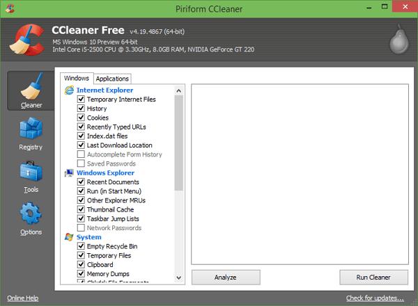 البرامج المطلوبة بعد إعادة التثبيت Windows 7 - كلنر