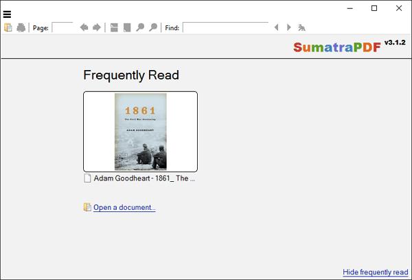 قارئ PDF (سومطرة PDF)