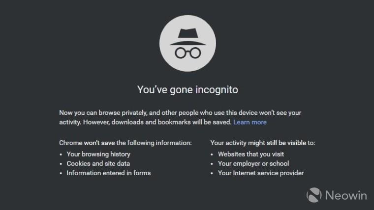 لا يزال بإمكان مواقع الويب اكتشاف ما إذا كنت تستخدم وضع التصفح المتخفي ، على الرغم من حماية Google 1