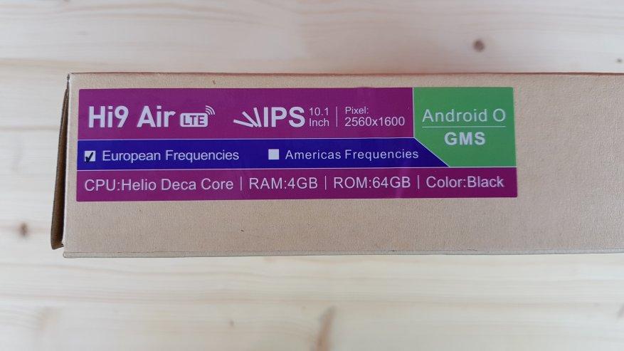 Chuwi Hi9 Air: جهاز لوحي 4G مثير للاهتمام مع شاشة بحجم 10 بوصات بحجم 2 بوصة ومعالج ذي 10 مراكز 2